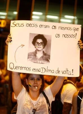 """""""Ses idées étaient les mêmes que les nôtres ! Nous voulons que cette Dilma nous revienne !"""""""
